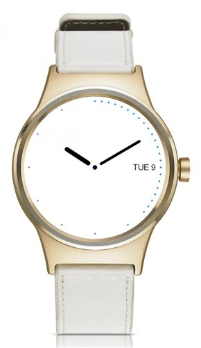 TCL Movetime, Leather, Gold/White