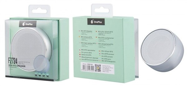 Aplus BT mini speaker PLUS F2724 silver