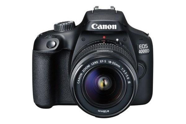 CANON EOS 4000D+18-55+SB130+16GB-selekce