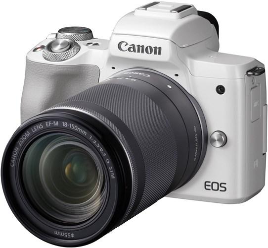 Canon EOS M50 White + EF-M 18-150