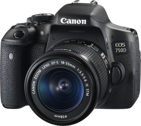 CANON EOS 750D 18-55 S+LP-E17 4CE