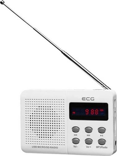 ECG R 155 U White
