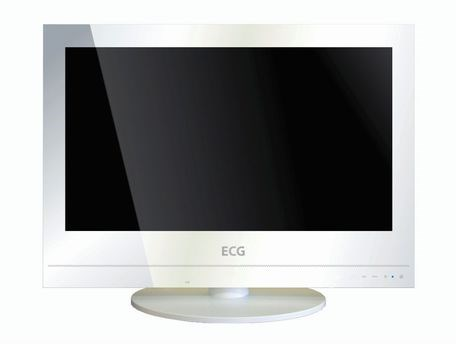 ECG 19 LED 412 PVR WHITE