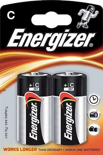 ENERGIZER E300152100  Power alkaline C/2