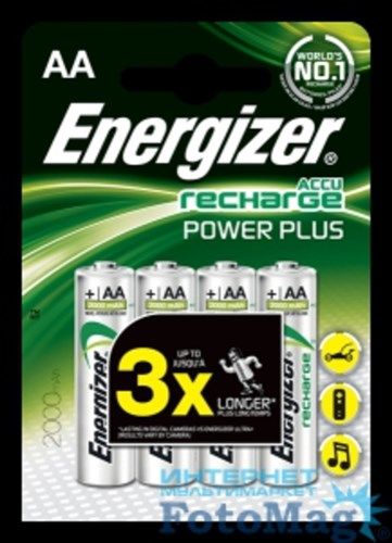 ENERGIZER E300626700 AA/4-2000