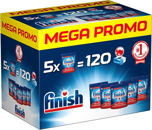 FINISH Allin1 Max 120ks Mega box
