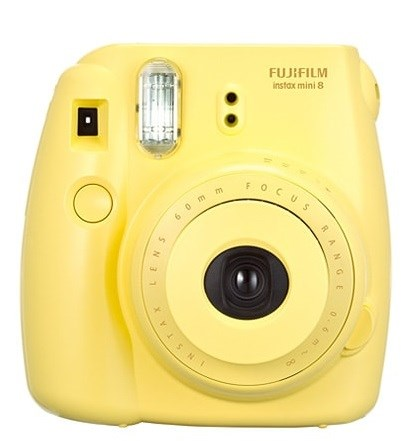 Fujifilm INSTAX MINI 8S - Yellow