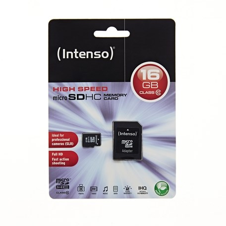 INTENSO microSDHC 16GB Class 10