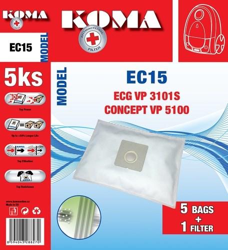 Koma ECG VP 3101S SMS