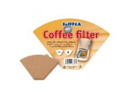 Filtr kávový Koma KF04 vel. 4