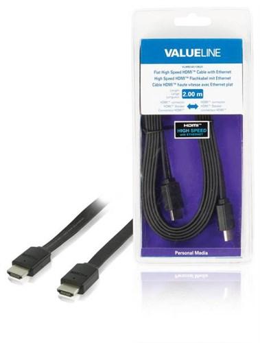 VALUELINE VLMB34010B20 HDMI-HDMI, 2m BK