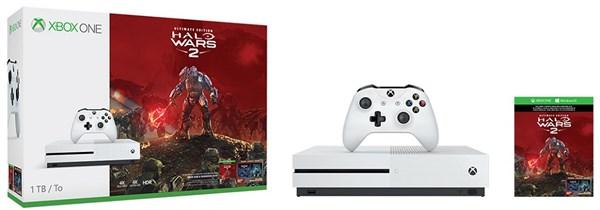 MICROSOFT XONE S 1TB White + Halo Wars 2