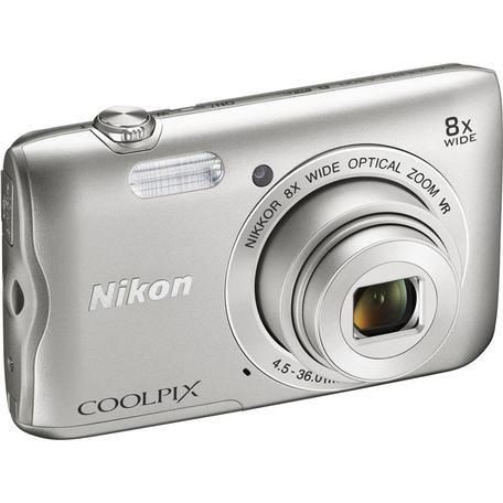 Fotoaparát Nikon Coolpix A300, stříbrný