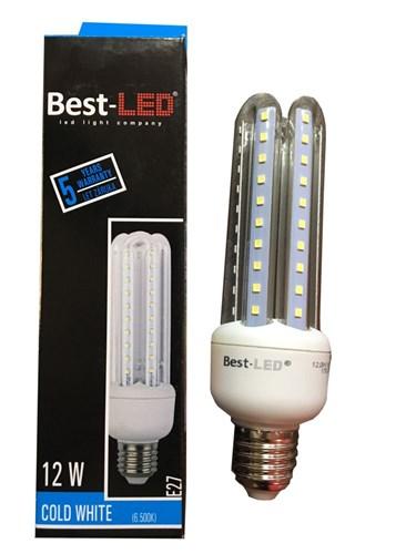 Best-Led E27 12W,st.bílá BL-3U-12-CW-E27
