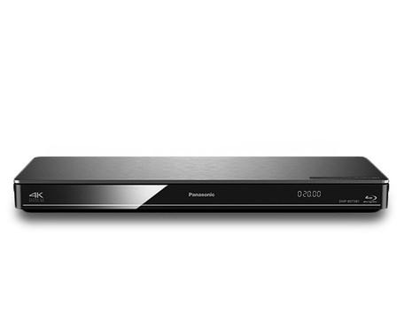 3D Blu-ray přehrávač Panasonic DMP-BDT381EG, stříbrný