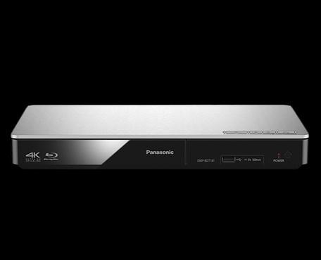 11714f3a6 3D Blu-ray přehrávač Panasonic DMP-BDT181EG, stříbrný