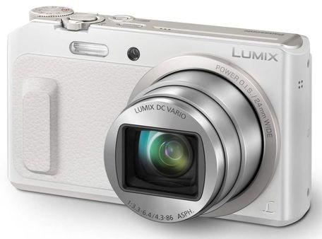 Fotoaparát Panasonic DMC-TZ57EP-W, bílý