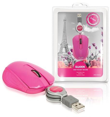 SWEEX Paris Mini Mouse, pink