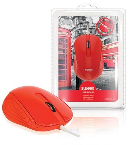 SWEEX London Mini Mouse, red