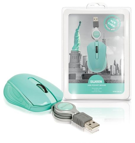 SWEEX New York Mini Mouse, green