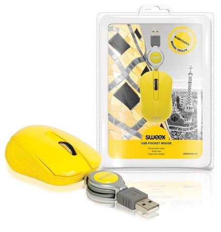 SWEEX Barcelona Mini Mouse, yellow