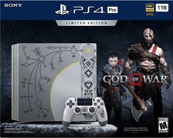SONY PS4 PRO 1TB + God of War