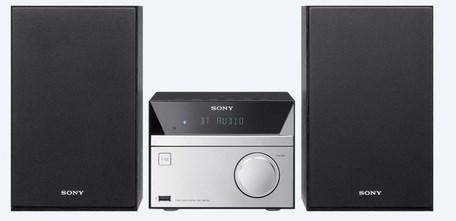 Mikrosystém Sony CMT-SBT20, stříbrný