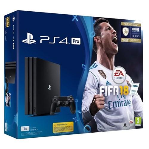 SONY PS4 PRO - 1TB + FIFA 18