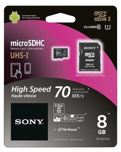SONY SDHC 8 GB