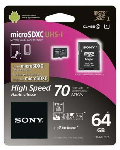 SONY micro SDHC 64 GB
