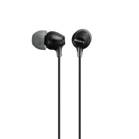 SONY sluchátka MDR-EX15LP, černá
