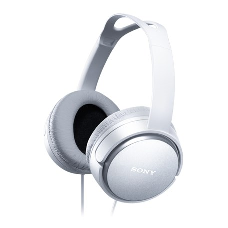 Sluchátka Sony MDRXD150W.AE - bílá