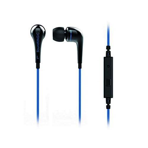 SoundMAGIC ES11S headset, černá/modrá