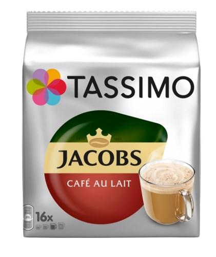 Kapsle Jacobs Cafe Au Lait 184g