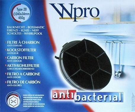 Filtr uhlíkový Whirlpool DKF 606 k odsavači AKR520,AKR420/1, TYPE 2
